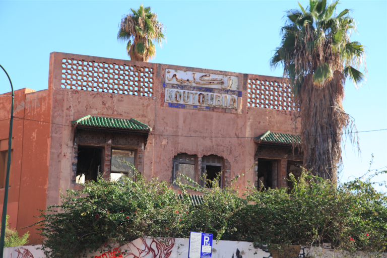 The Koutoubia hotel and the Cite Fouque